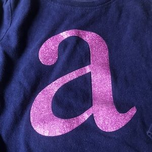 "Long sleeve ""a"" shirt"